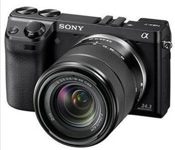 索尼微单相机NEX7K含18-55镜头