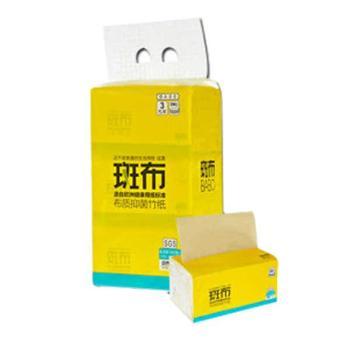 斑布 BASE系列卫生抽纸130抽(三层)x3包(135mmx200mm )