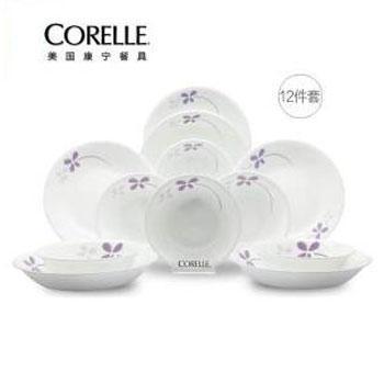 美国康宁/CORELLE CR-NWP04 餐具套装 十二件套