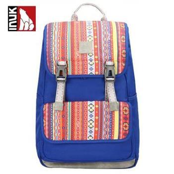 加拿大inuk图腾系列双肩包休闲时尚文艺范旅行背包 IKB12916119045