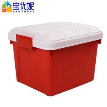 宝优妮 DQ9089-3车载收纳箱 红色 40L