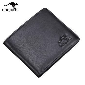 豪爵袋鼠 DS1129-1-2竖款钱包 商务休闲钱包