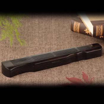 木质卧香炉 紫光檀香炉 檀香炉 线香炉 古琴香炉 线香香炉 卧香盒