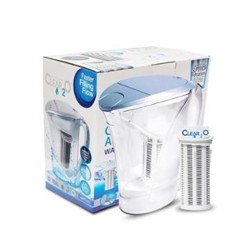 车之秀品 美国Clear2O滤水壶净水壶净水器 高精度家居快速净水器可滤美滤水壶1