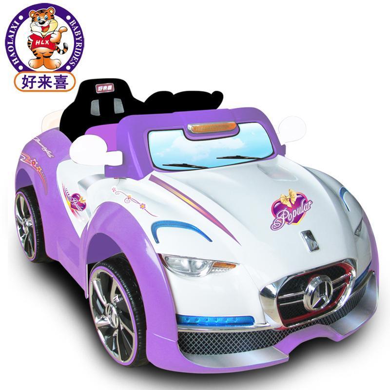 好来喜sx1318儿童电动车童车带遥控可坐