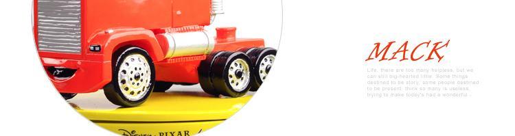 迪士尼正品 赛车总动员/汽车总动员 玩具 麦大叔 车模 收纳盒