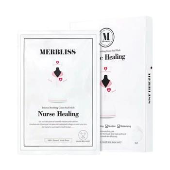 merbliss茉贝丽思韩国进口婚纱天使舒缓面膜5片