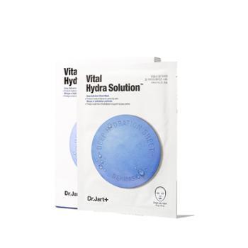 Dr.Jart蒂佳婷药丸胶囊熬夜面膜蓝色补水保湿单盒