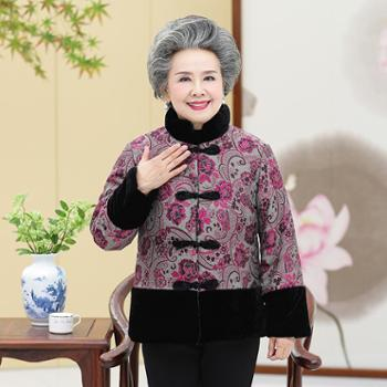 祝婶子中老年奶奶棉衣货号:SW1035