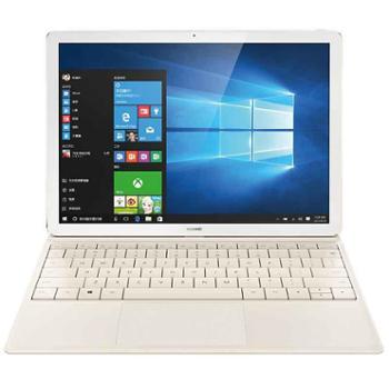 华为(HUAWEI)MateBook 12英寸平板二合一笔记本电脑 (Intel core m5 8G内存 256G存储 键盘 Win10)香槟金