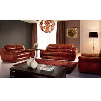 组合沙发 牛皮沙发 客厅沙发 1210