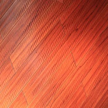 风格地板 实木地板 蒲桃木(黑金檀)