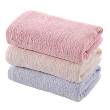 永亮3条装纯棉纱布毛巾1018