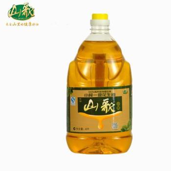 莱芜包邮山歌古法农家小榨一级花生油4L 更美味更健康 食用油中的高档品