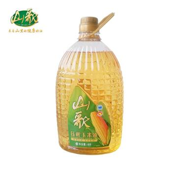 山歌非转基因一级玉米油4L