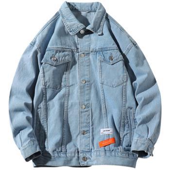 男士春季牛仔夹克新款韩版潮流牛仔衣男外套DS625