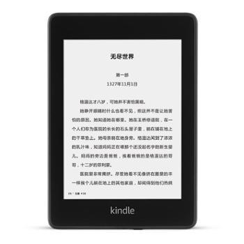 Kindlepaperwhite4电子书阅读器第4代6英寸wifi黑色8G