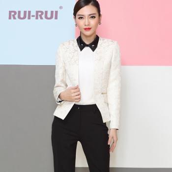 RUI-RUI秋装新款韩版长袖小西服女修身短款外套女装AB1085