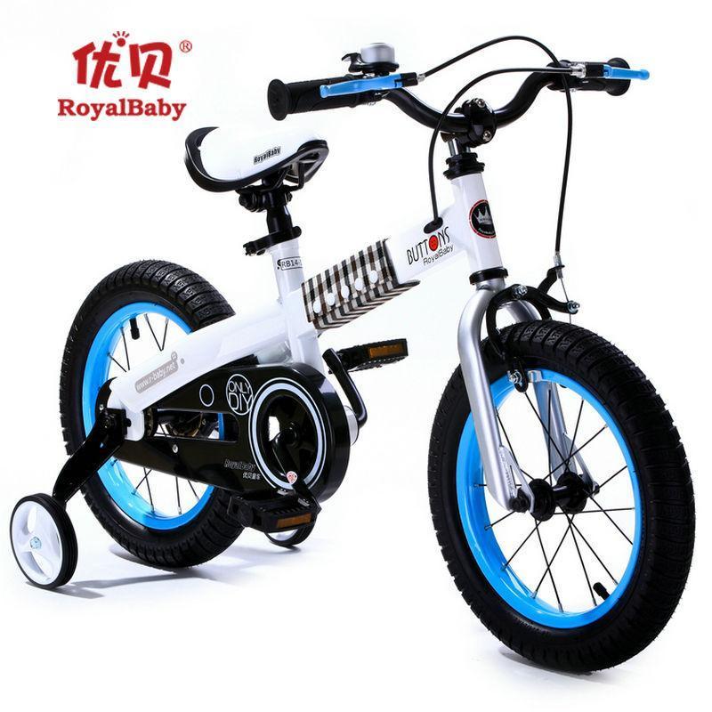 优贝儿童自行车小孩子女孩童车宝宝小单车男孩山地车