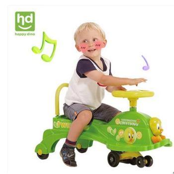 好孩子旗下小龙哈彼儿童扭扭车静音轮婴儿玩具车LN405