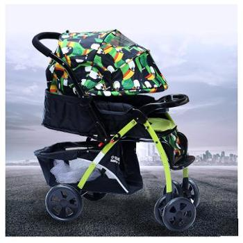 小龙哈彼婴儿推车四季可坐可躺儿童车折叠轻便宝宝手推车LC519H