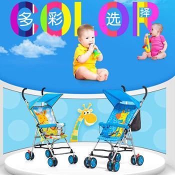 好孩子小龙哈彼婴儿推车四季轻便折叠伞车儿童手推车伞把车LD202EM