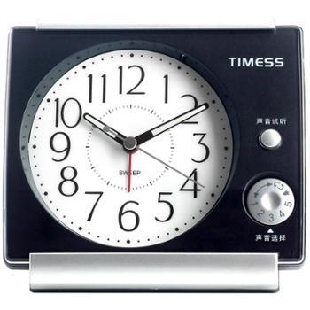 TIMESS闹钟创意时尚儿童学生石英钟T831星空黑
