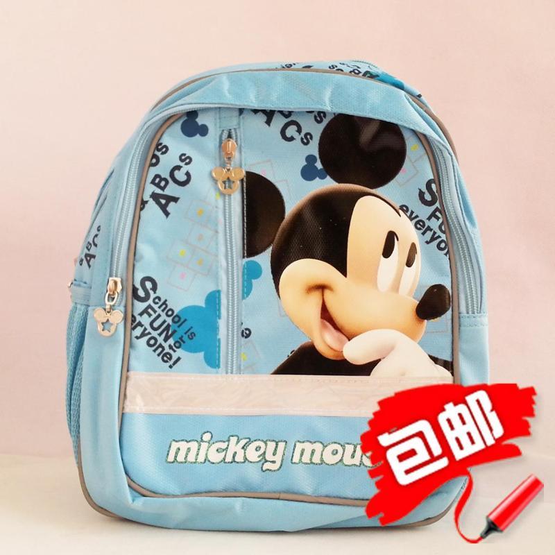 迪士尼幼儿背包 幼儿园小朋友书包 蓝色粉色