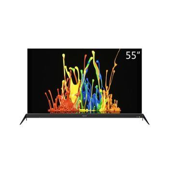 创维Skyworth55R8创维55英寸27核超薄HDR人工智能电视金色