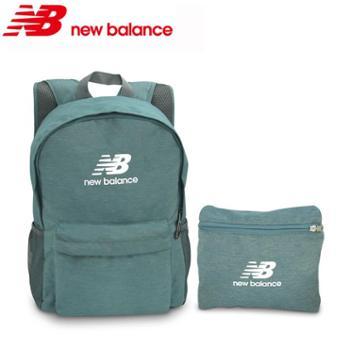 正品授权 New Balance新百伦 涤纶折叠双肩背包
