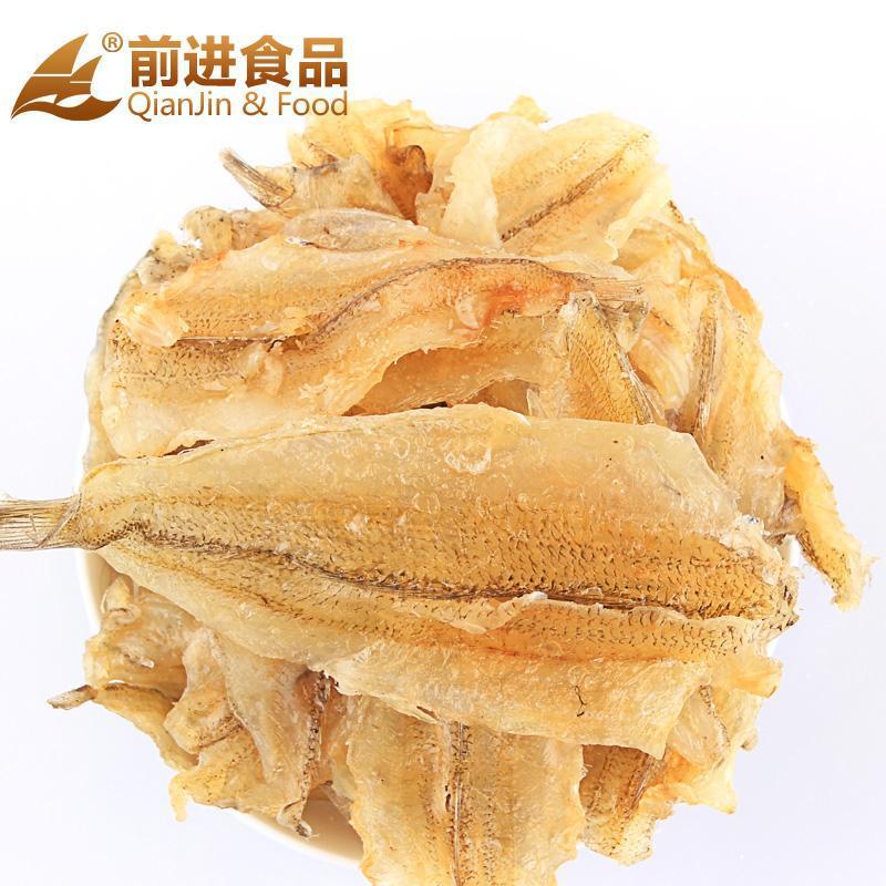 前进食品 现烤金梭鱼 休闲零食 即食烧烤鱼片130g