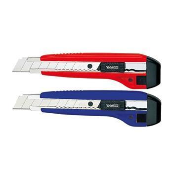 得力(DeLi)2041大号带金属护套美工刀 切纸刀 每把