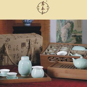 万春和宾客满门茶具