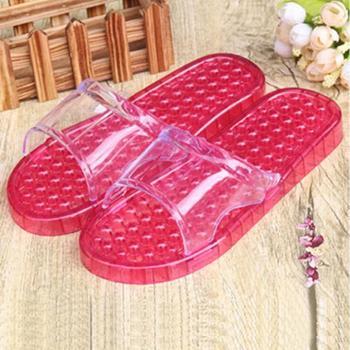 瑶琳 浴室按摩拖鞋 防滑镂空漏水保健按摩拖鞋