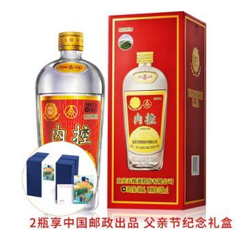 五粮液股份公司内控酒(老酒复古瓶)52度500ml浓香型白酒