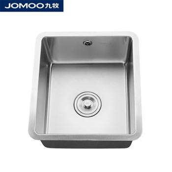JOMOO九牧水槽单槽厨房304不锈钢洗菜盆洗碗盆水槽龙头套餐06213及套餐