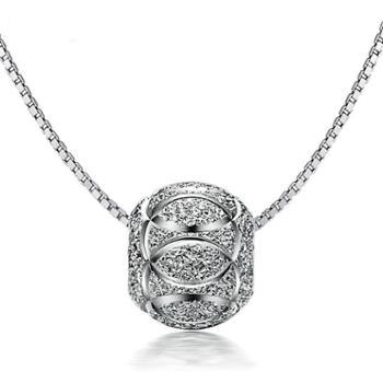 【福建龙支付】融润珠宝转运珠足银吊坠 配送链子