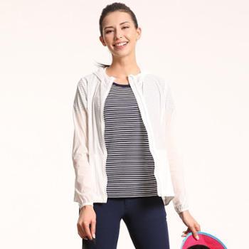 塞沃斯夏款女时尚休闲皮肤衣户外运动休闲遮阳上衣薄款透气
