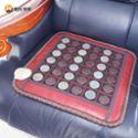 继万乐家正品 玉石锗石混合坐垫 暖脚垫沙发垫 四季可用坐垫