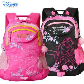 迪士尼小学生3-6年级儿童休闲书包PL8076