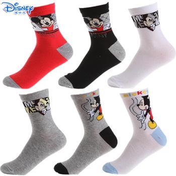 迪士尼米奇男童袜子六双装