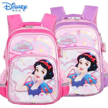 迪士尼公主女童1-4年级双肩卡通书包PB0375