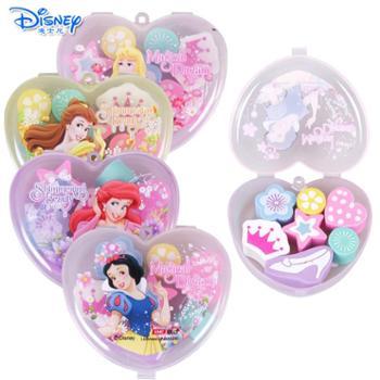 迪士尼公主儿童卡通造型橡皮擦7件装