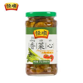 恒顺香菜芯375g酱莴苣江苏镇江特产下饭小菜腌制泡菜酱菜榨菜