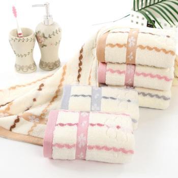 正典毛巾厂家直销 新品无捻水纹纯棉毛巾 超高性价比新品促销一条装