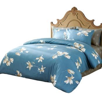梦洁静待花开床品四件套