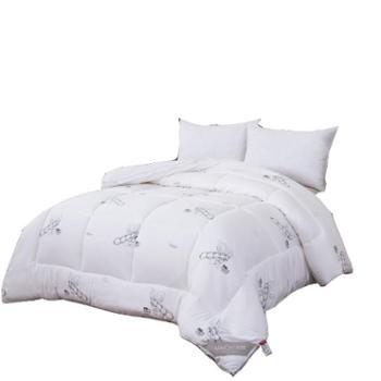 英国雅迪娜家纺大豆蛋白暖绒被秋冬被加厚保暖单双人床上用品喜莱雅