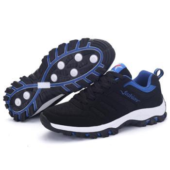 耶斯爱度男鞋休闲鞋休闲鞋男鞋耐磨透气户外跑鞋男士旅游鞋(新达利169)
