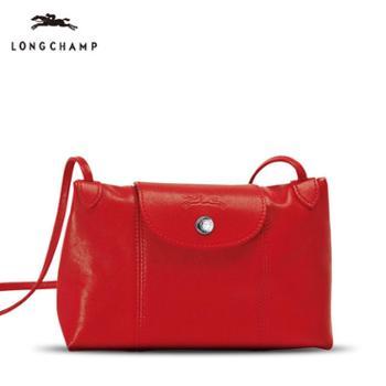 Longchamp小羊皮斜挎包1061