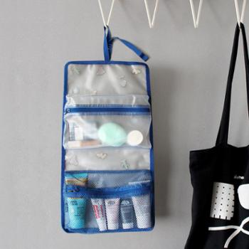 U-PICK原品生活 时尚插画旅行折叠收纳袋洗漱防水挂袋方便携带